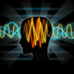 41604703 - brain waves illustration